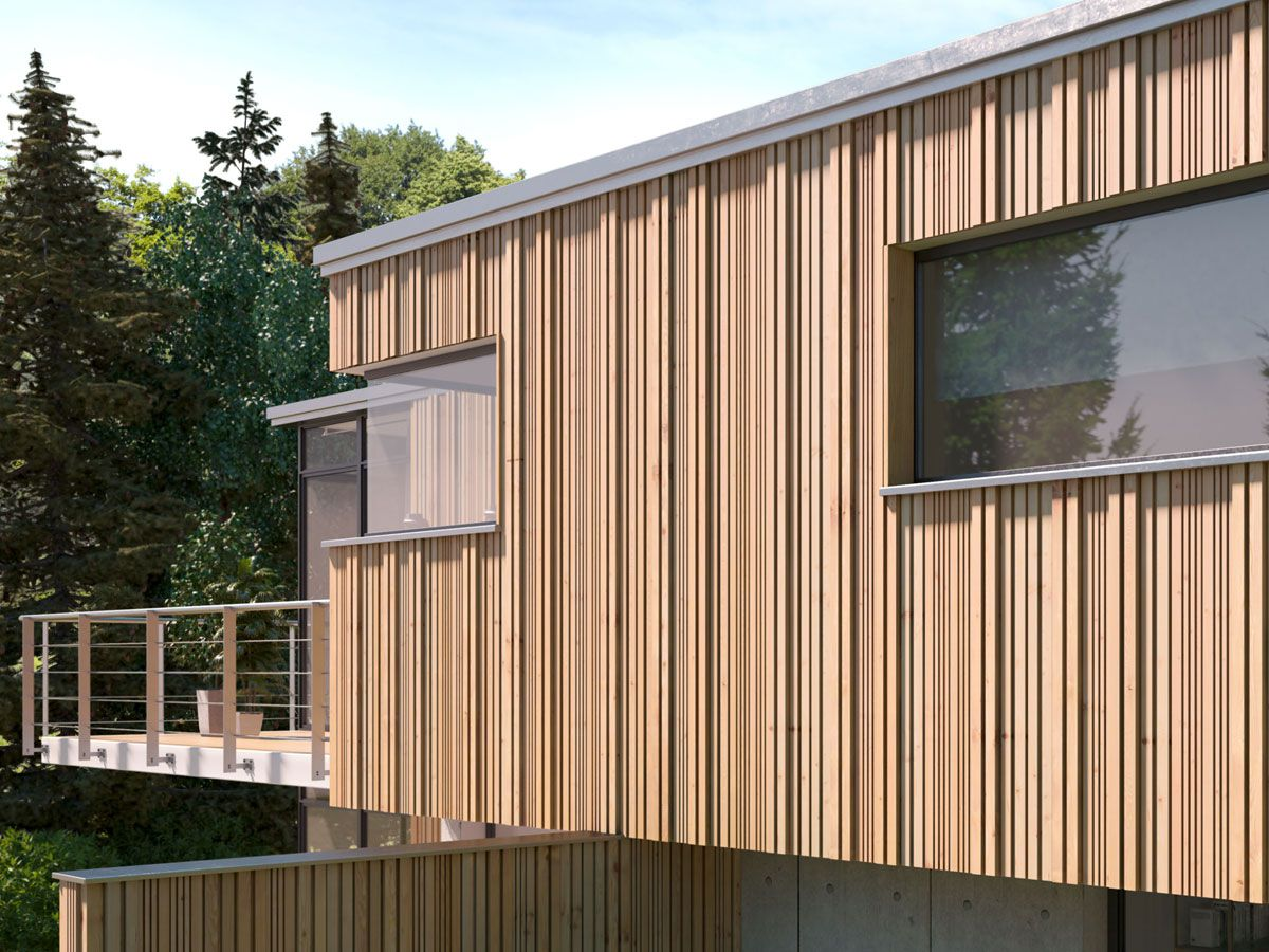 Fassade - Ihr Holzbauer aus Geilenkirchen - Holzbau Küppers
