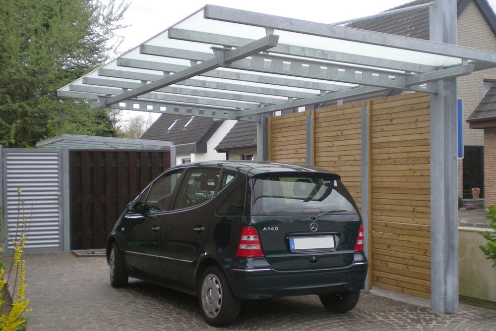 carport dachaufbau top preise fr ein carport with carport. Black Bedroom Furniture Sets. Home Design Ideas